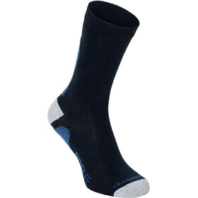 Craghoppers NosiLife Socks Twin Pack Herre dark navy/soft denim stripe